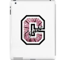 Colgate University tie dye Logo iPad Case/Skin