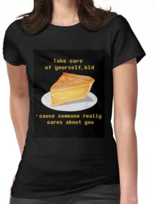 Take care - UNDERTALE Womens Fitted T-Shirt