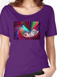 Galaxy Space Dog Women's Relaxed Fit T-Shirt