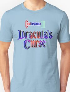 Castlevania 3 (NES Title Screen) T-Shirt