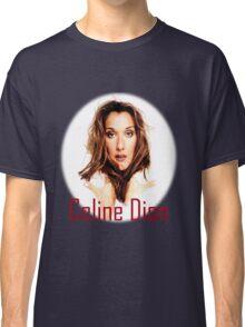 Celine Dion Face beauty Classic T-Shirt