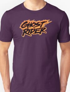 Ghost Rider - Classic Title - Clean T-Shirt