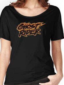 Ghost Rider - Classic Title - Dirty Women's Relaxed Fit T-Shirt