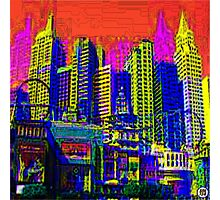 $IN CITY: ABSTRACT CITYSCAPE (UNO) Photographic Print
