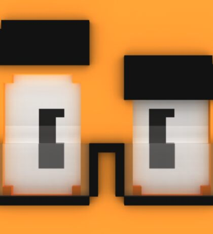 Quad Cube Sticker