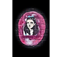 Alice in Wonderland Graffiti Photographic Print