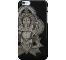 Ganesha - black iPhone Case/Skin