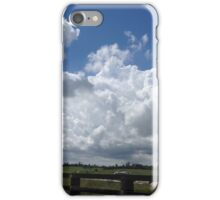 Masses of fluffy clouds iPhone Case/Skin