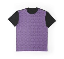 purple abstract circle pattern Graphic T-Shirt