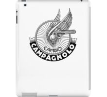 fixed gear campi iPad Case/Skin