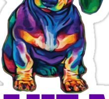 Dachshunds Make Me Happy.! Sticker