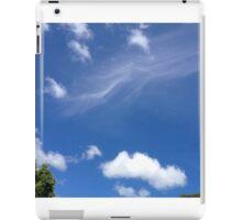 Wisps and fluff iPad Case/Skin