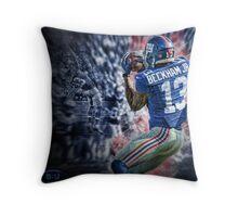 Odell beckham jr Throw Pillow
