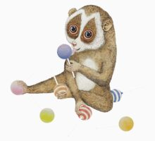 Animal Slow Loris Baby Tee