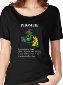 Phombie - Mobile Phone Zombie Women's Relaxed Fit T-Shirt