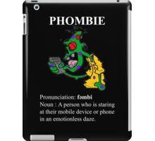Phombie - Mobile Phone Zombie iPad Case/Skin