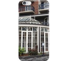 Architecture and nature combine iPhone Case/Skin