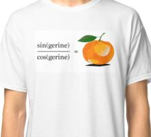 Maths Geek Joke - Tangerine Classic T-Shirt