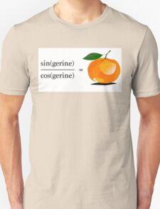 Maths Geek Joke - Tangerine T-Shirt