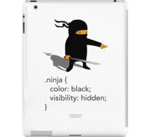 Geek Tee - CSS Jokes - Ninja iPad Case/Skin