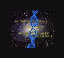 Galaxy DNA Fearfully Made Unisex T-Shirt