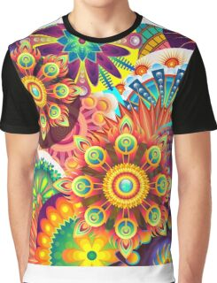 Psychedelic Trip-out Graphic T-Shirt
