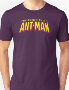 The Astonishing Ant-Man - Classic Title - Clean T-Shirt