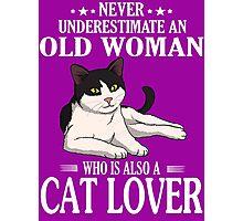 Cat Lover Photographic Print