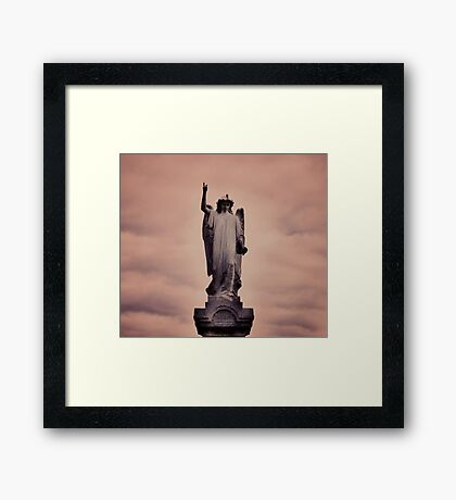 Jude 1:6  : Angel Framed Print