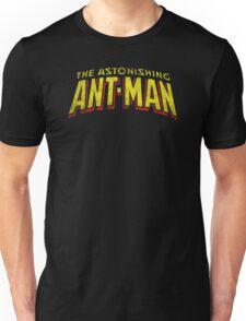 The Astonishing Ant-Man - Classic Title - Dirty Unisex T-Shirt