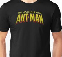 The Astonishing Ant-Man - Classic Title - Dirty Unisex T-Shirt