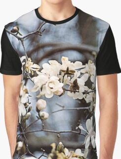 Magnolia Blossoms Graphic T-Shirt