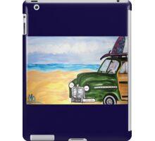 watch hill woodie wagon iPad Case/Skin
