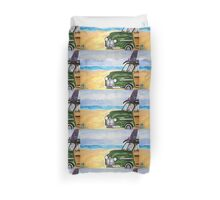 watch hill woodie wagon Duvet Cover