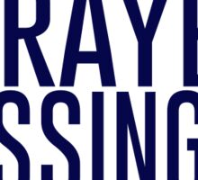 prayers and blessings Sticker