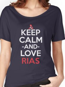 Keep Calm And Love Rias Anime Shirt Women's Relaxed Fit T-Shirt