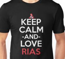 Keep Calm And Love Rias Anime Shirt Unisex T-Shirt