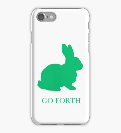 Go Forth (and multiply) iPhone Case/Skin
