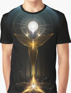 The Light Of Hope On Golden Wings Graphic T-Shirt