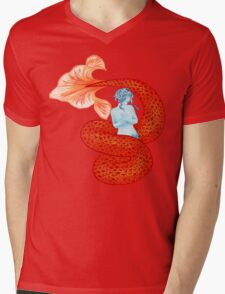 Red and Blue Mermaid T-Shirt