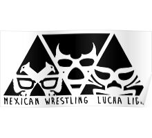 mexican wrestling lucha libre2 Poster