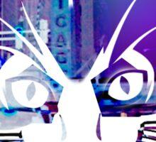 City Kitty Sticker