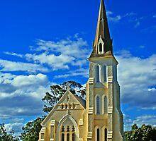 Evandale church Tasmania by UncaDeej