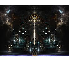 Unity Scape Fractal Abstract Photographic Print