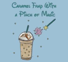 Caramel Frap with a Pinch of Magic Kids Tee