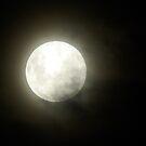 Misty moon by UncaDeej