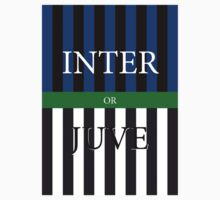 INTER or JUVE One Piece - Short Sleeve