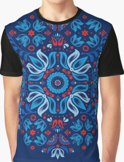 Folk Floral Tale Graphic T-Shirt