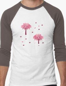 A Walk in the Forest Men's Baseball ¾ T-Shirt