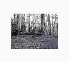 Woodland Scene - Bluebells Unisex T-Shirt